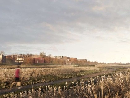 Wood architecture meets nature in new community in Copenhagen