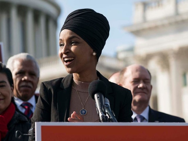 Rep. Omar blasts Trump after he complained that 'she's telling us how to run our country'
