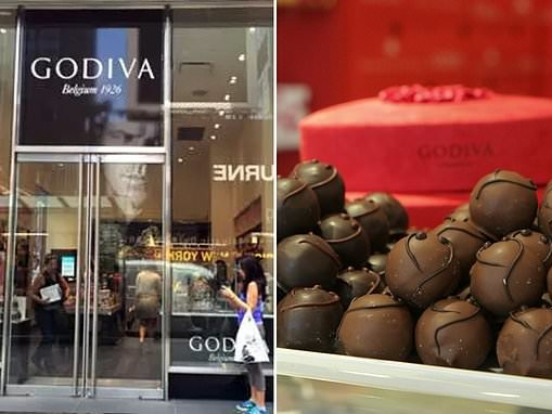 Godiva to shut down all 128 brick-and-mortar stores in North America