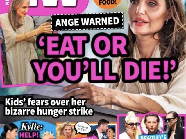 Angelina Jolie Warned By Doctors To 'Eat Or Die'?
