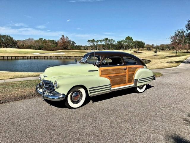 Hemmings Find of the Day – 1948 Chevrolet Fleetline Country Club Aero Sedan