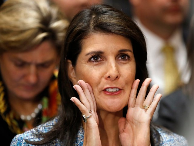 Nikki Haley claims John Kelly and Rex Tillerson asked her to defy Trump in order to 'save the country' from the inside