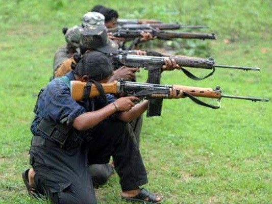 maoist attack and demand for telangana