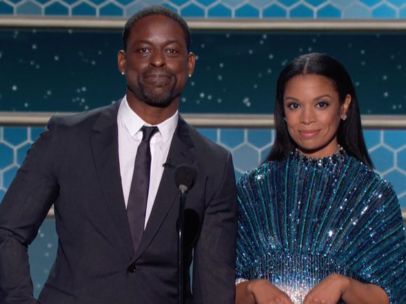 Sterling K. Brown & Susan Kelechi Watson Call Out HFPA's Lack of Black Representation at Golden Globes 2021