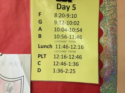 Does lunch have to be 45 minutes? Rethinking school schedules to support innovation