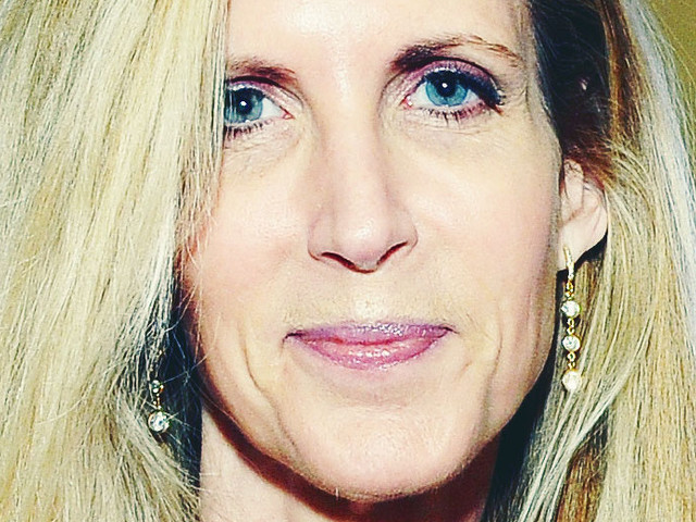 Ann Coulter Lives an Empty Life of Quiet Desperation (Her Words)