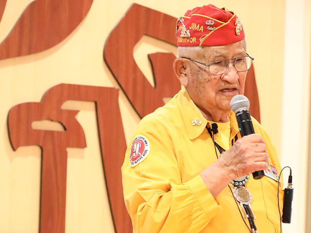 Navajo Code Talker Receives Honor from IRS