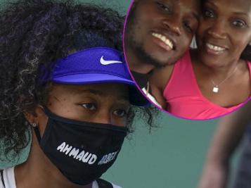 Ahmaud Arbery's Mom BLASTS Friends & Fundraisers For Profiting Off Of His Death + Naomi Osaka Wears Ahmaud Arbery Mask, Wins U.S. Open Match