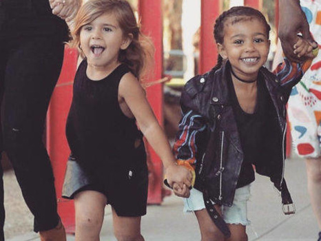 18 Moments That Prove North West and Penelope Disick Are the Cutest Celebrity Cousins
