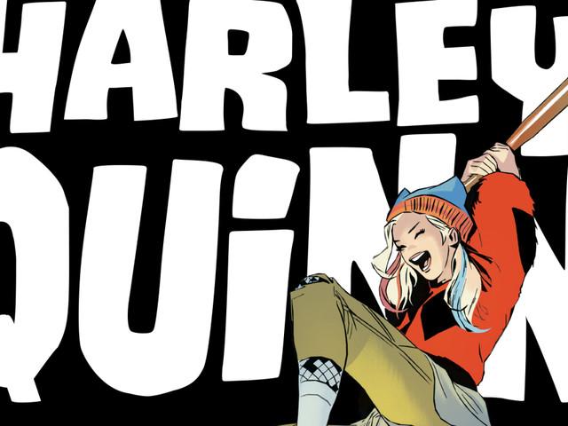 """Harley Quinn: Breaking Glass"" Book Trailer: DC Delves Into Harley's Wild-Child Days"