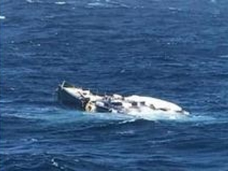 New Pictures Emerge Of Superyacht Lost At Sea After Falling Off Cargo Ship