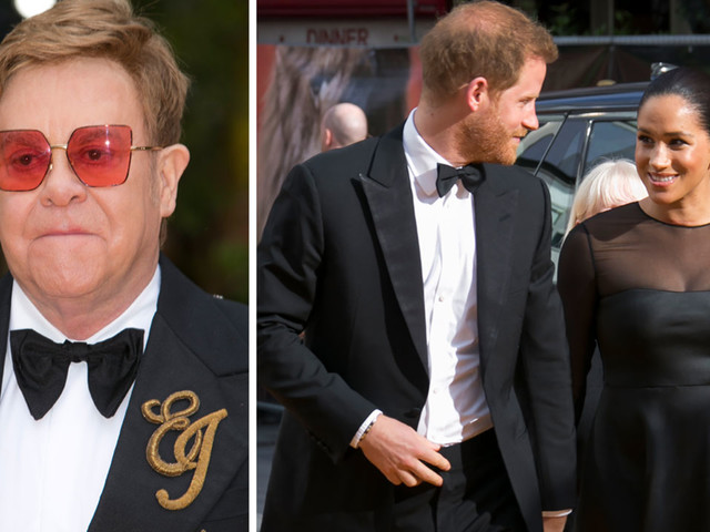 Elton John slams media for criticizing Prince Harry, Meghan over private jet use