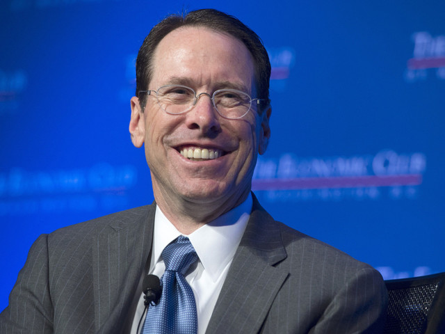 AT&T CEO says Time Warner merger is all about ads