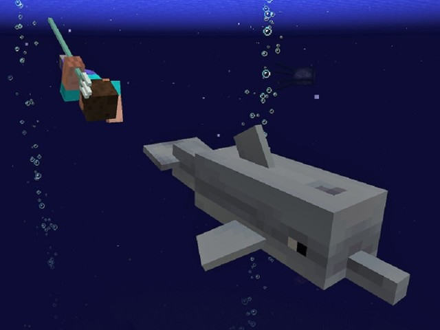 The Next 'Minecraft' Update Will Add Dolphins And Tridents; Graphics Upgrade And Nintendo Switch Version With Cross-Platform Play Delayed