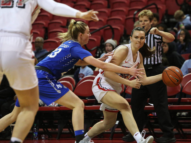 UNLV roundup: Powell, Lady Rebels throttle Air Force