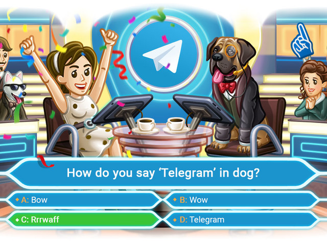 Telegram 5.14 adds multiple-answer and quiz polls (APK Download)