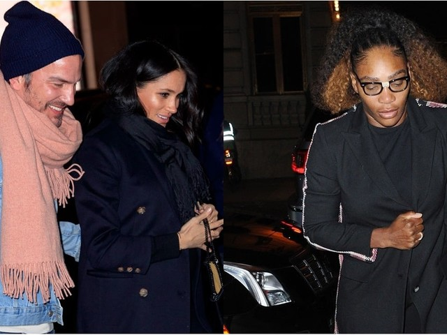 Meghan Markle and Serena Williams Caught Up Over Dinner in NYC, Just Like Old Friends Do