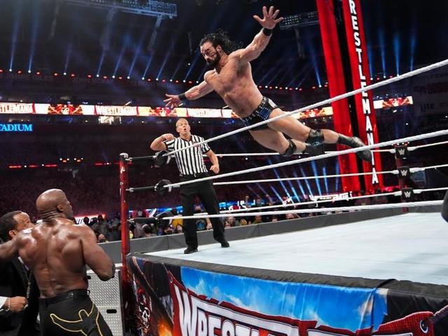 Nia Jax Trolls Drew McIntyre In Epic Fashion over his WrestleMania Dive