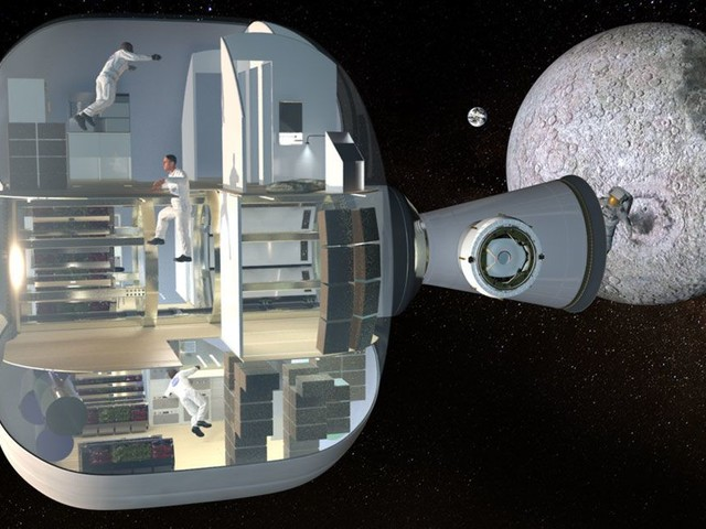 This inflatable space habitat was built for comfort, and could travel to Mars