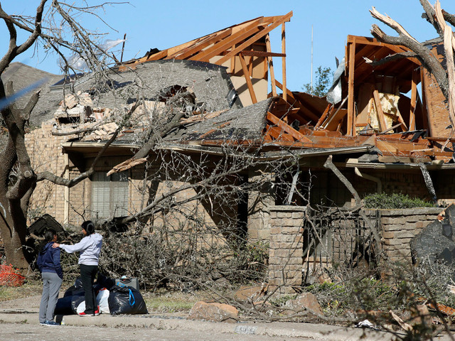 Dallas tornado leaves damage, devastation after tearing through Texas