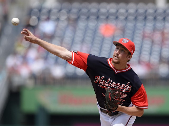 Erick Fedde called up to Nationals to start against Padres