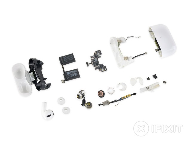 AirPods Pro Teardown: Heavier Than Original AirPods, Different Battery, Same Zero Repairability Score