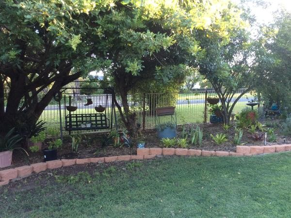 Garden care and dog sit