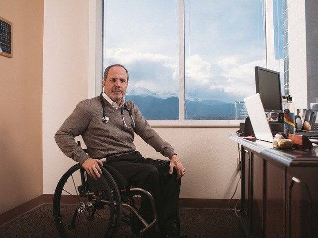 Dr. Glen House promotes low-carb diets for those with spinal cord injuries