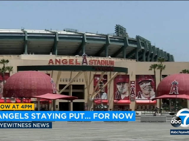 Angels renew Anaheim stadium lease for another year