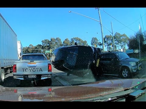 Toyota Corolla Flips After Being Cut Off By RAV4 In Australia