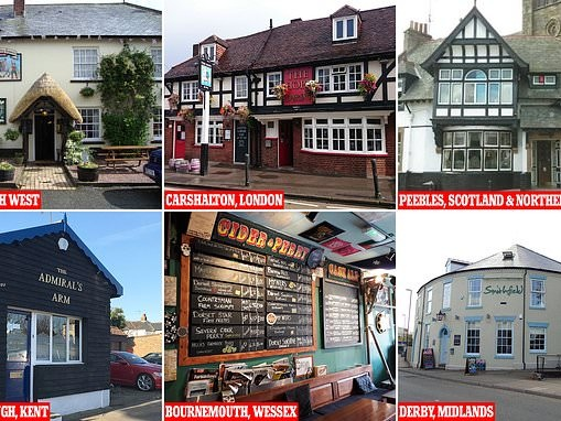 CAMRA reveals it's annual list of Britain's best pubs