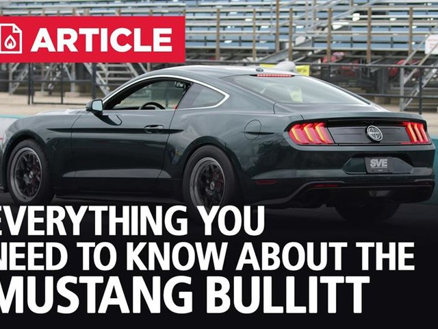 Everything You Need To Know About The Mustang Bullitt
