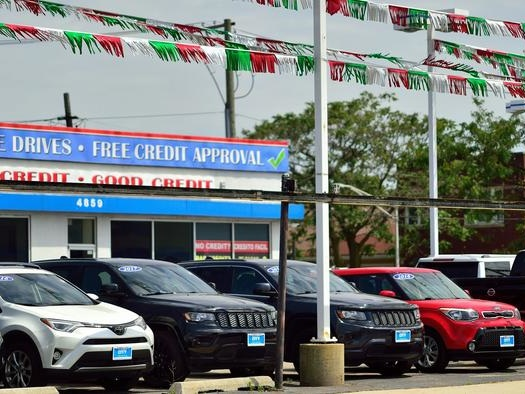 """""""Team Transitory"""" Suffers Blow As Used Car Prices Resume Surge"""