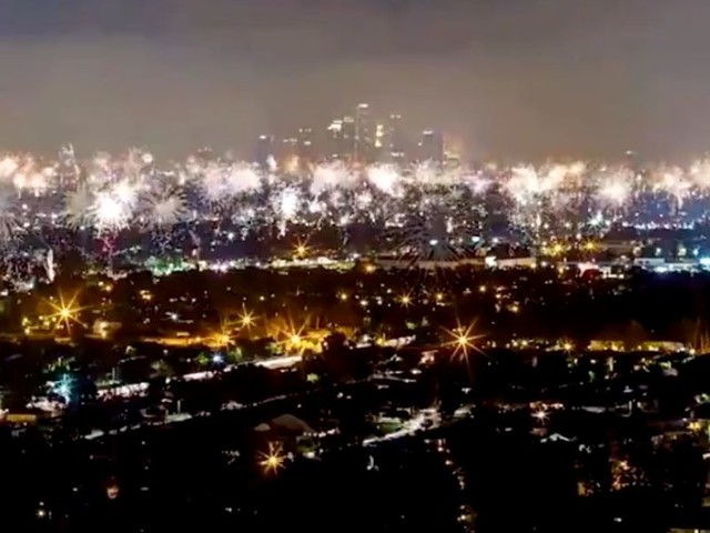 Incredible video shows how defiant Californians responded to ban on Fourth of July celebrations