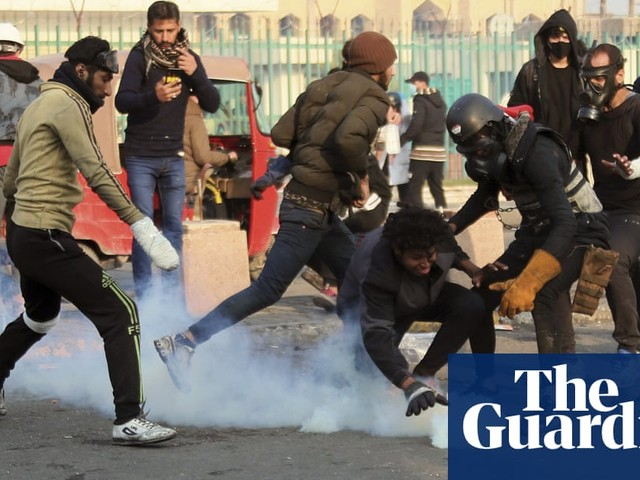 Several killed as Iraqi security forces raid protest site
