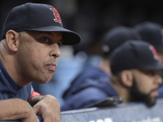 Defending champ Red Sox eliminated, lose to Rays 5-4
