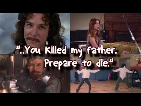 My name is Inigo Montoya. You killed my father. Prepare to die.