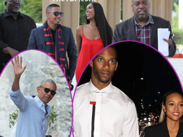 OH? Exes Nick Cannon & Jessica White Want That Old Thing Back? + Karrueche & Victor, Idris & Sabrina, The Obamas Out & About