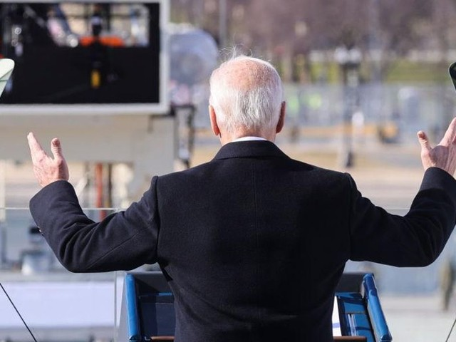Commentary: Biden pledges 'unity' in inaugural address, but can he achieve it?