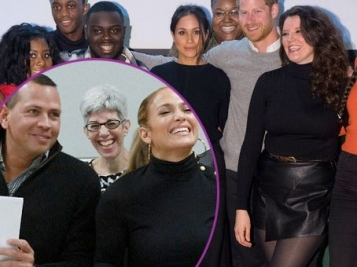 PHILANTHROPIC COUPLEDOM: Megan Markle & Prince Harry Hung Out With Teens For First Gig Of 2018 + J-Rod Jets To Puerto Rico To Allocate Those Relief Funds