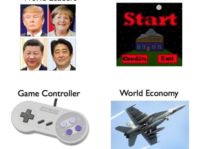 The Geopolitical Video Game