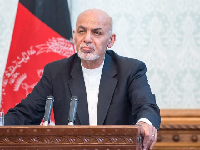 Last president of Afghanistan says his Facebook account was hacked when it posted a message telling people to accept Taliban rule