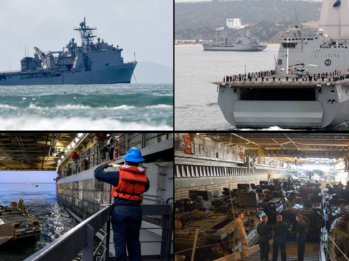 Navy, Marine Corps Begin Arctic War Exercise To Counter Russia and China