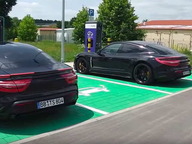 Porsche Taycan and Volvo Polestar prototypes spotted in the wild