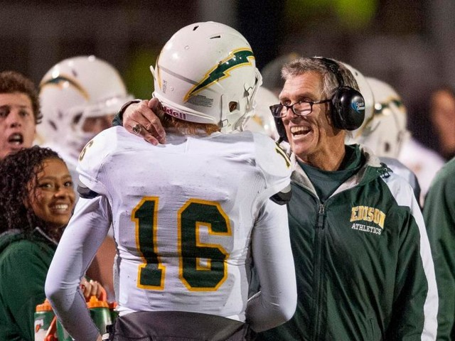 Two-time CIF champion Dave White returns to Edison football as assistant coach