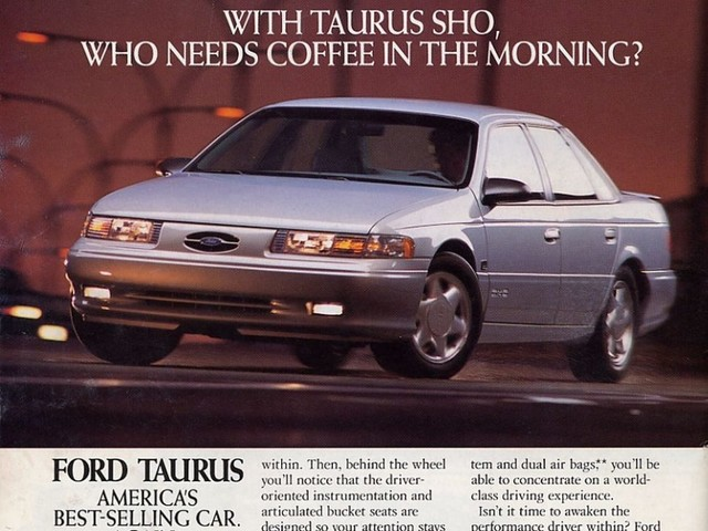 When performance sold cars – Ford's 1994 Taurus SHO