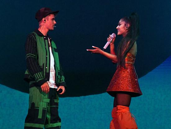 Justin Bieber Joins Ariana Grande At Coachella, Teases New Album