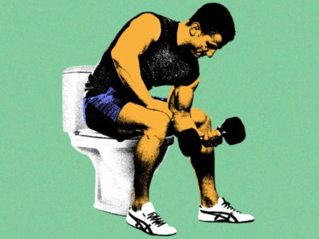 Dose working out often cause diarrhea?