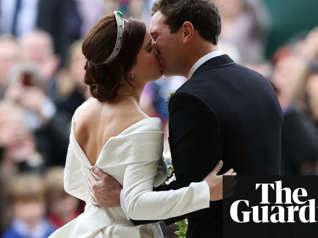 Princess Eugenie: official wedding photographs – in pictures
