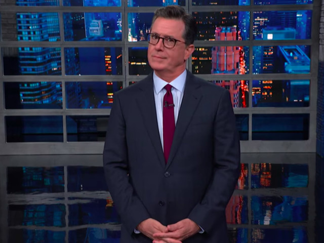 Stephen Colbert catches out Fox News admitting Trump might be a racist